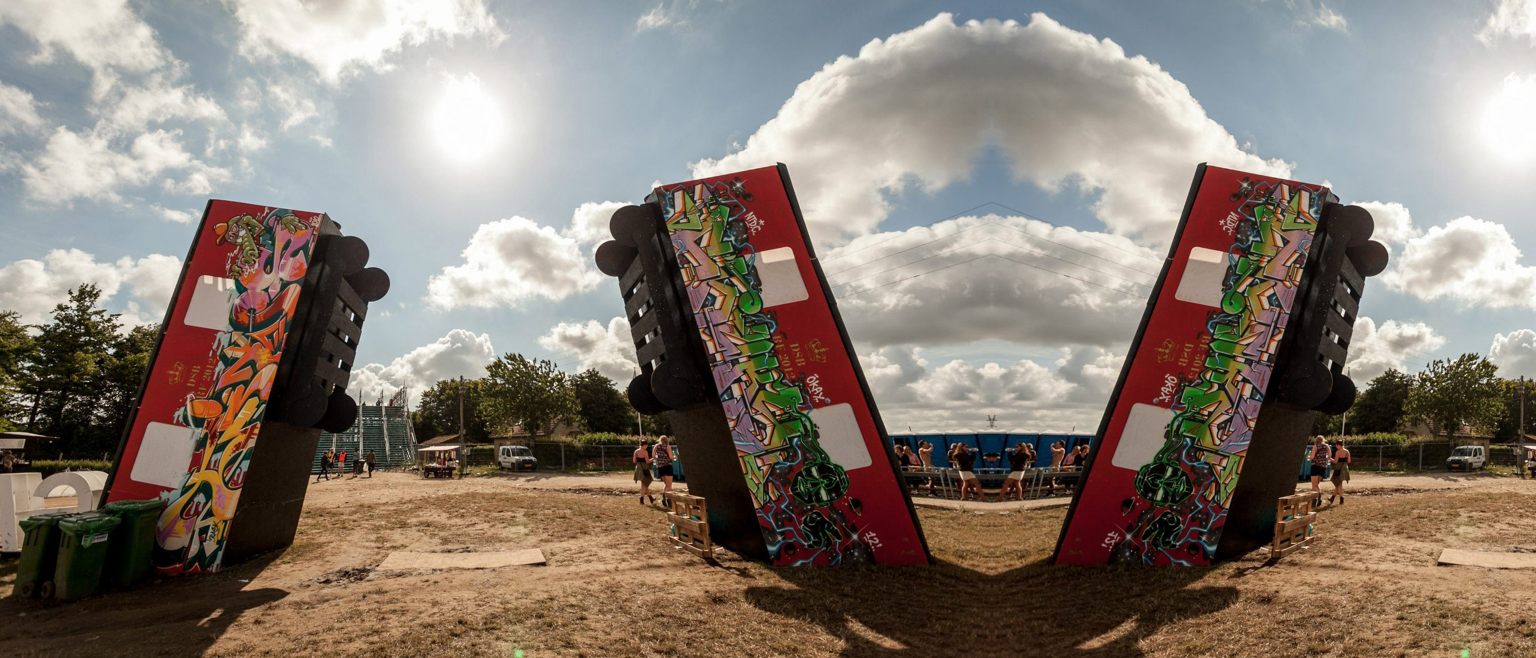 Train Art – Roskilde Festival