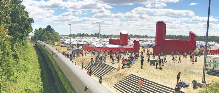 Roskilde Festival Plads Station