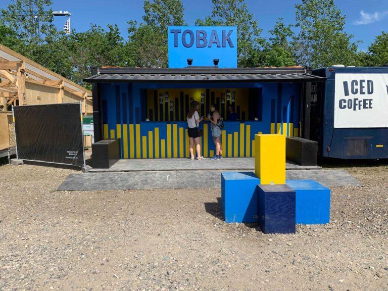 Northside/TinderBox/Musik i Lejet Tobacco booth